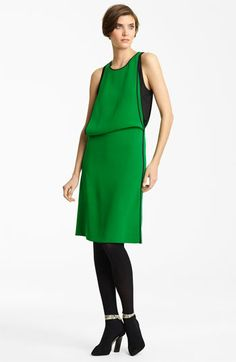 Green with envy over this '20s inspired frock. Reed Krakoff Layered Silk Dress available at Nordstrom