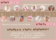 Measure a year One Year in a Flash First Birthday Party