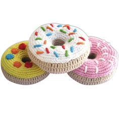 My kinda rattle!!  donuts rattles / via rompstore.com