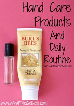 Hand Care Products and Daily Routine