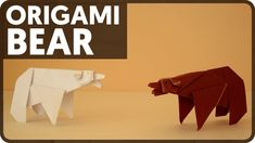 Get more origami here: http://bit.ly/1NVSi4t In this tutorial I show how to fold an origami bear designed by Fumiaki Kawahata. This and other models can be f...
