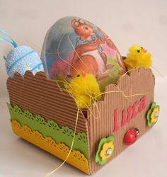 easter basket - cestini di Pasqua