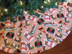 Christmas Tree Skirt Bowling Tree Skirt by KaysGeneralStore, $50.00