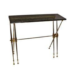 Jules Leleu - Pair of Console Tables by Jules Leleu