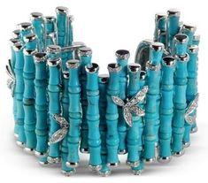 La vague bleue | Blog Kenem Bijoux – Bijoux Fantaisie, Pâte d'Argent, Pâte de Bronze, Pâte de Cuivre