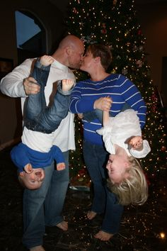 Fun Family Christmas Picture 2012