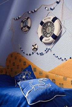 Inspiration for boy's rooms #baby #nursery #decor #design #pinparty