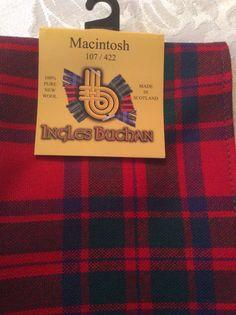 McIntosh clan tartan.