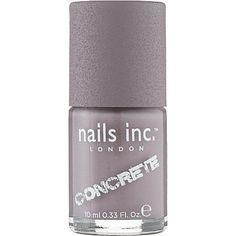 Concrete Nail Varnish