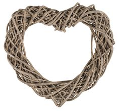 KID - Basket-Hjerte pynt 49,90 Grapevine Wreath, Grape Vines, Basket, Wreaths, Kids, Home Decor, Young Children, Boys, Decoration Home