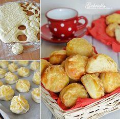 Gabriella kalandjai a konyhában :): Pehelykönnyű sajtos-burgonyás pogácsa Pretzel Bites, Bread, Foods, Food Food, Food Items, Brot, Baking, Breads, Buns