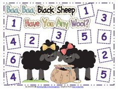 Here's a set of nursery rhyme themed Roll and Cover game boards. Recording sheets included.
