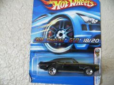 Hot Wheels '69 Pontiac GTO 2005 (Realistix) First Editions #18 5 Spoke Wheels by MATTEL. $5.00