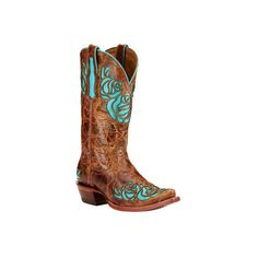 Women's Ariat Dusty Rose X Toe Cowgirl Boot ($186) ❤ liked on Polyvore featuring shoes, boots, casual, cowboy boots, tan, western boots shoes, tall cowgirl boots, cowgirl boots, american cowboy boots and western cowgirl boots