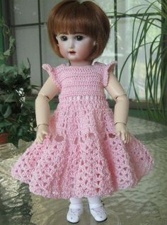 Bleuette Crochet Patterns   Doll Bleuette/Rosette/MoMo/AND LIKE DOLLS Clothes