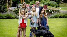 Königin Maxima, König Willem-Alexander und die Prinzessinnen Ariane, Amalia und Alexia