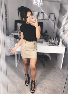 In love with skirts at the moment! -Deondra :)