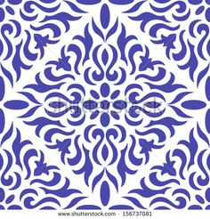 Abstract Ornament Seamless. Vector.
