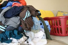 Tips to wash less laundry!