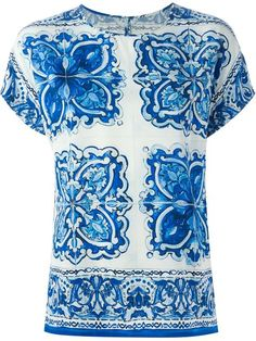 Shop Dolce & Gabbana 'Majolica' top  in Parisi from the world's best independent boutiques at farfetch.com. Shop 300 boutiques at one address.