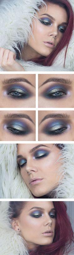 Makeup by Linda Hallberg -  Todays look – Enchanted eyelids