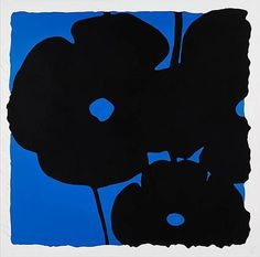 Blue Poppy   From a unique collection of abstract prints at https://www.1stdibs.com/art/prints-works-on-paper/abstract-prints-works-on-paper/