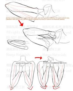 how to draw / 個人メモ:肘の向き / November 2019 - pixiv Body Reference Drawing, Hand Reference, Drawing Reference Poses, Anatomy Reference, Drawing Poses, Drawing Tips, Body Drawing Tutorial, Manga Drawing Tutorials, Anatomy Sketches