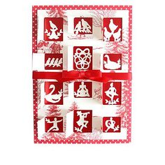 Anna Griffin® 12 Days of Christmas Mini Die Set - 9633129 | HSN Christmas Minis, 12 Days Of Christmas, Christmas Projects, Holiday Cards, Christmas Cards, Anna Griffin, Sewing Crafts, Projects To Try, Card Making