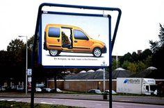 "Renault Kangoo: ""KANGOO SPECTACULAR"" Print Ad  by Publicis"