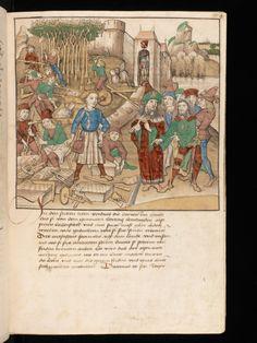 Bern, Burgerbibliothek / Mss.h.h.I.16 – Diebold Schilling, Spiezer Chronik / p. 55