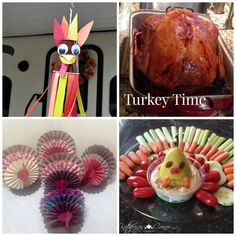 turkey time ~ It's turkey time over at Katherine's Corner where all the hostesses are sharing their fun and best! Gluten free and turkey recipe linked for you.  <3