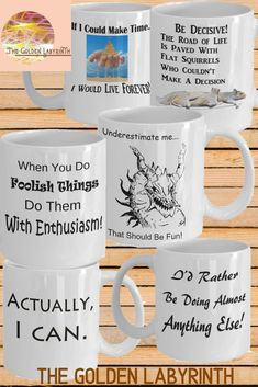 Funny coffee mug lover? This shop has quite the assortment - T-shirts and jewelry designs as well. Bookmarking for the upcoming holiday giving season Funny Coffee Mugs, Funny Mugs, Cool Gifts, Best Gifts, Unusual Presents, Novelty Mugs, Tea Mugs, Cool Things To Buy, Gifts For Her