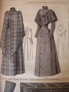 Victorian Era Fashion, 1890s Fashion, Vintage Fashion, Vintage Mode, Look Vintage, Vintage Beauty, Vintage Outfits, Vintage Dresses, Historical Costume