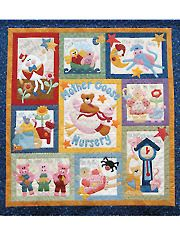 Mother Goose Nursery Quilt Pattern