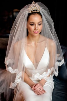 With thirty years experience of dressing brides, where do we find the inspiration to start designing our new capsule bridal couture collection? V Neck Wedding Dress, Sexy Wedding Dresses, Designer Wedding Dresses, Bridal Dresses, Bridal Veils, Bridal Collection, Dress Collection, Elegant Bride, Bridal Crown