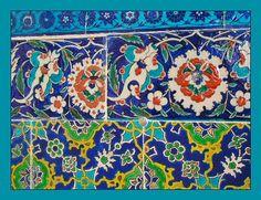 Colours on tiles Turkish Tiles, Turkey Travel, Ottoman Empire, Istanbul Turkey, Islamic Art, Mosaic Glass, Wall Tiles, Bunt, Palace