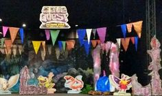 How to decorate for Cave Quest VBS.