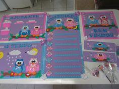 Kit decoração sala de aula Corujinha
