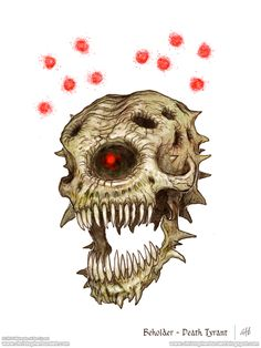 Beholder Death Tyrant - 5th Edition Dungeons and Dragons by christopherburdett