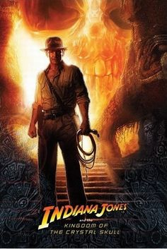 Indiana Jones i Królestwo Kryształowej Czaszki - plakat