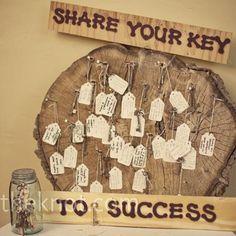 ideas with vintage or skeleton keys! | Weddings, Do It Yourself | Wedding Forums | WeddingWire