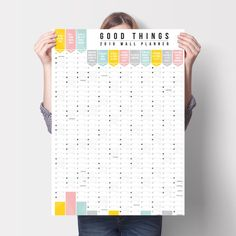 'Good Things' Wall Planner 2016 - product images  of