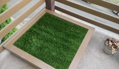 What a relief! Build your doggy his very own bathroom with these simple directions! The ingenious design from Bvkuntz on Imgur is a drainable, fake grass toilet for your dog. It's a practical, hygienic…