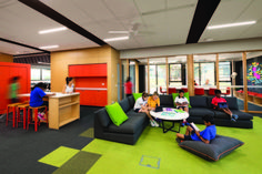 Gallery of Caulfield Grammar School / Hayball - 9 Learning Spaces, Learning Environments, University Of Melbourne, Grammar School, Great Schools, Master Plan, Innovation, Lounge, Education