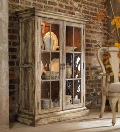 beautiful display cabinet from the Wakefield Collection by Hooker Furniture