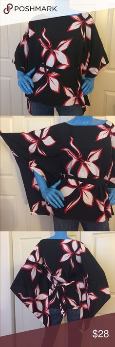 Tahari size S butterfly top New without tag. Size S beautiful butterfly style top. Tahari. Tahari Tops