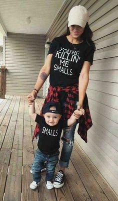 Kids You're Killing Me 'SMALLS' T-Shirt