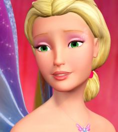 Elina from Barbie Fairytopia
