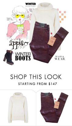 """Winter sweater/boots"" by jessicarabbit59 ❤ liked on Polyvore featuring moda, Garance Doré, STELLA McCARTNEY ve True Religion"