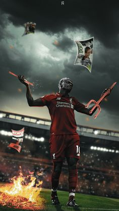 Liverpool Anfield, Liverpool Soccer, Liverpool Players, Neymar, Sadio Mane, Liverpool Wallpapers, Red Day, You'll Never Walk Alone, Sports Graphics
